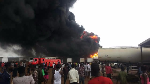 No deaths recorded in Ashaiman tanker yard fire
