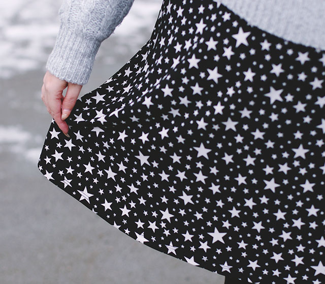 Simply Be Star Print Dress