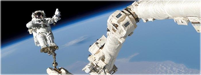 astronautas - ferramentas feitas de coco - fezes