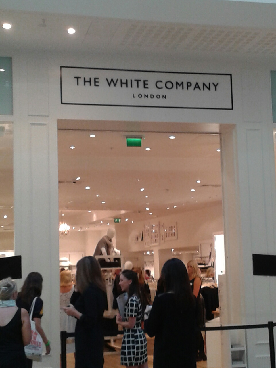 The White Company store front in Cardiff
