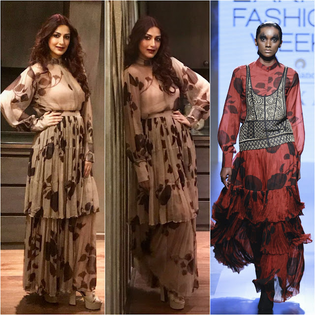 Sonali Bendre in Saaksha and Kinni for Mac Party