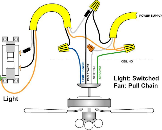 Electrical And Electronics Engineering  Wiring Diagrams For Lights With Fans And One Switch