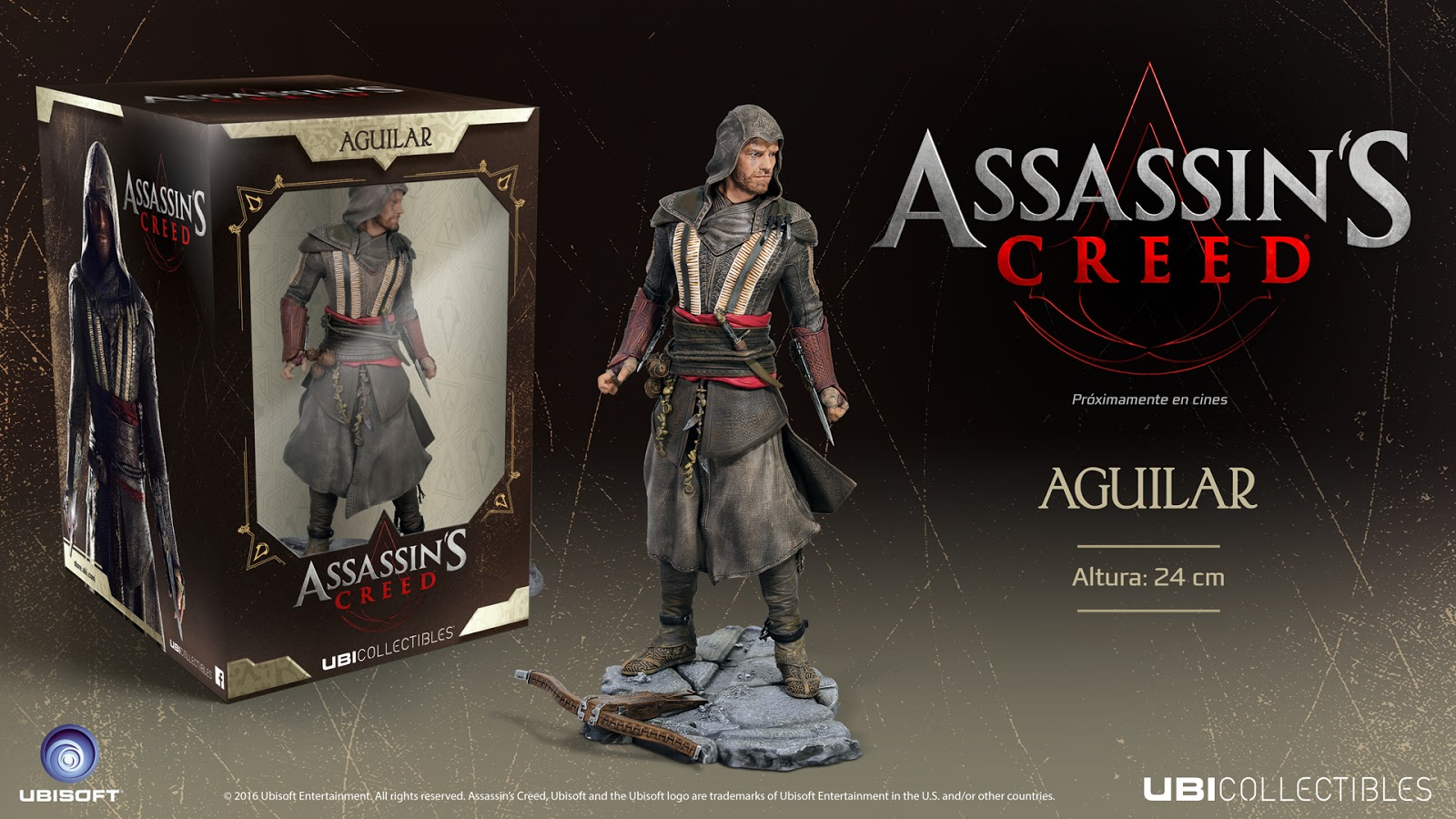Tráiler oficial de Assassin's Creed y Ubicollectibles