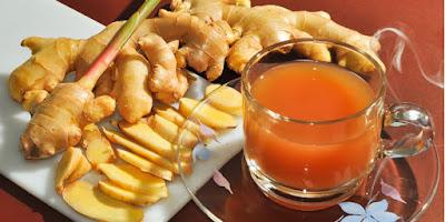 Resep Air Jahe Nikmat Untuk Diet