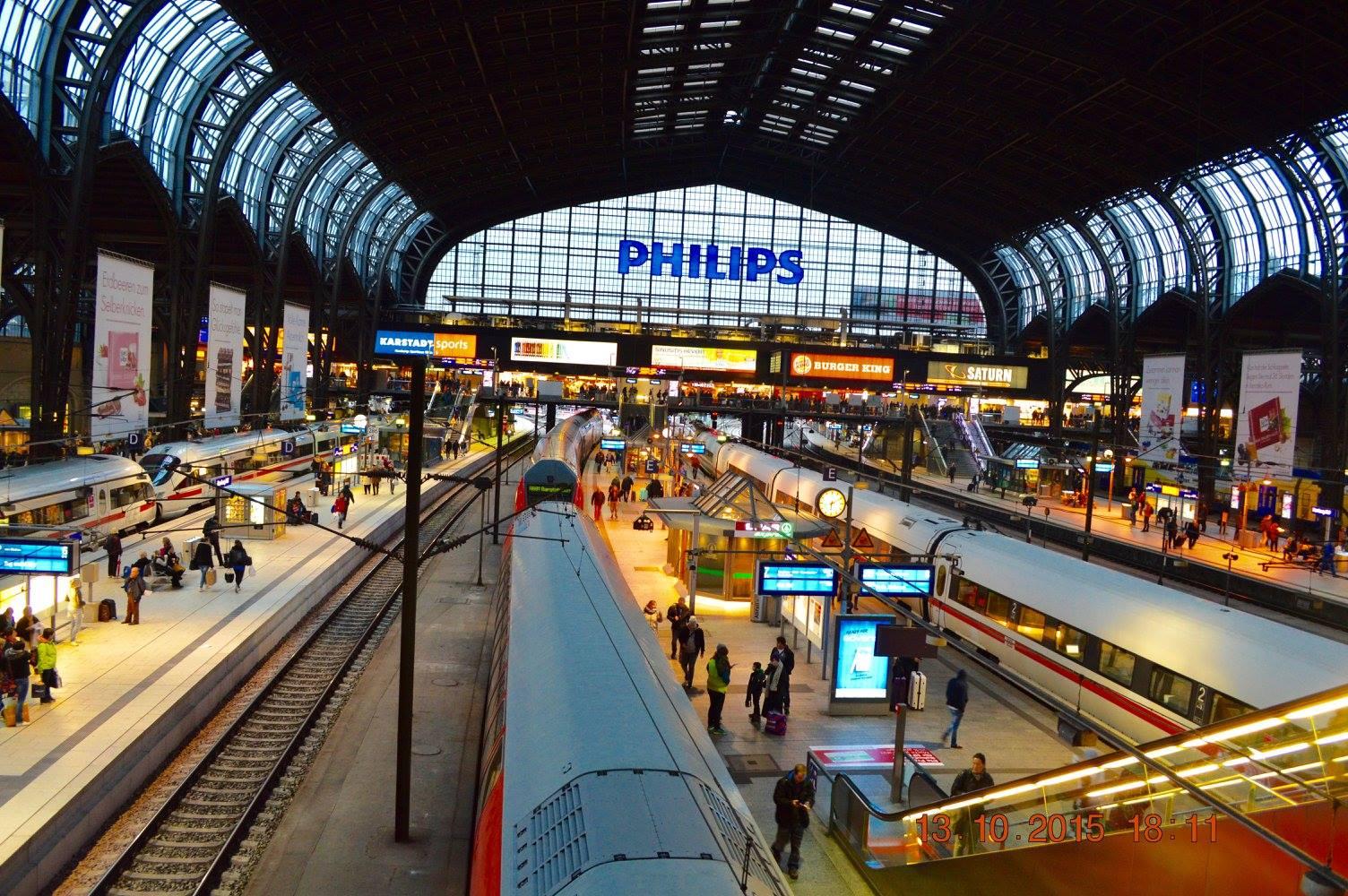 Hauptbahnhof Hamburg Schließfächer