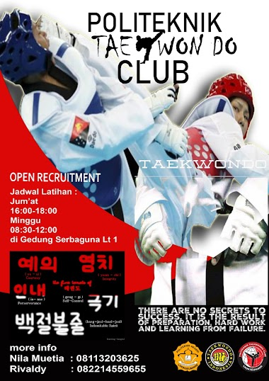 OPEN RECRUITMENT UKM-PTC