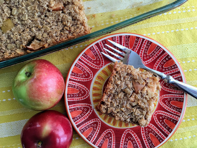 Apple baked oatmeal - glutenfree