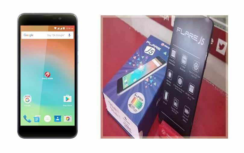 Cherry Mobile Flare J5 – 5.5 inch Screen with 4500mAh Battery Power