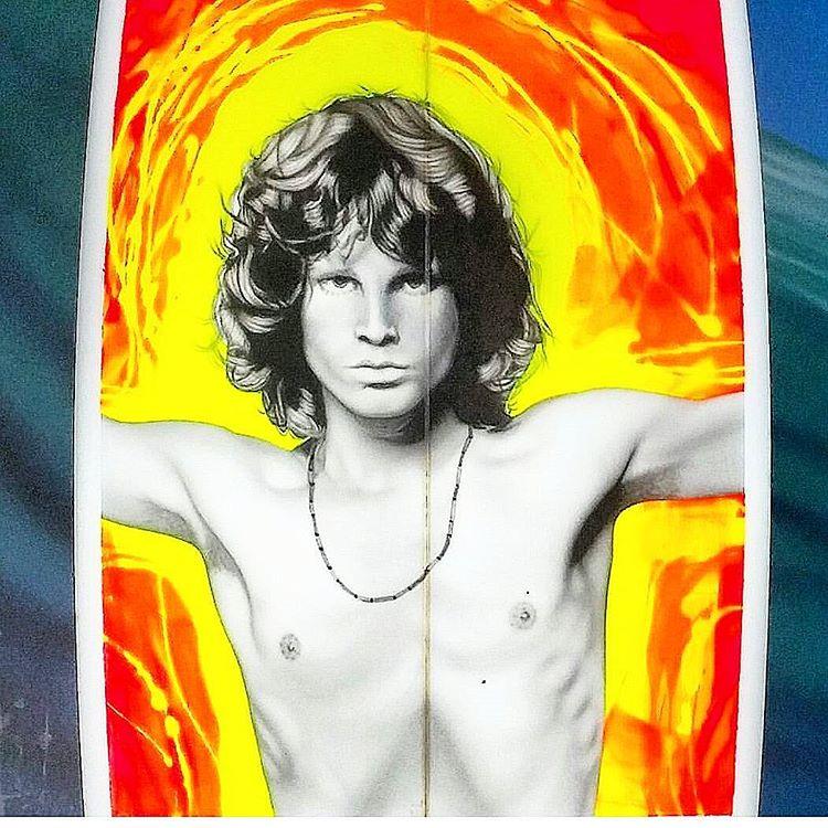 La serie de sprays sobre rockstars de Willy Nicholls