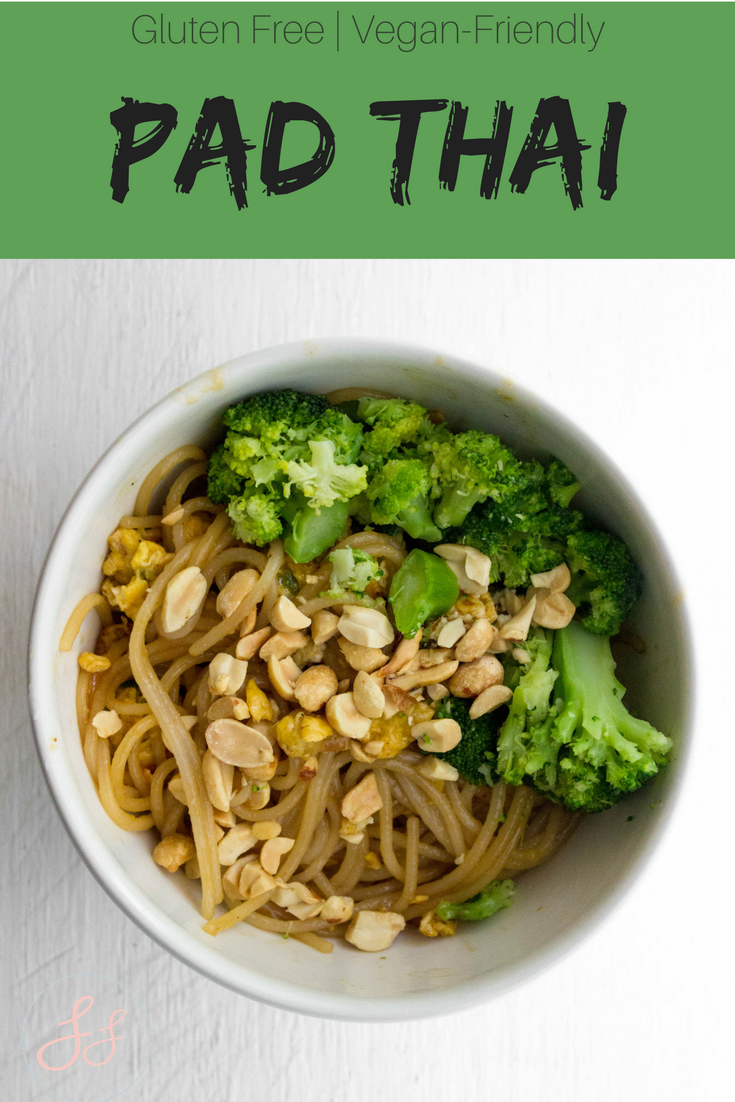 Pad Thai | #GlutenFree & #VeganFriendly