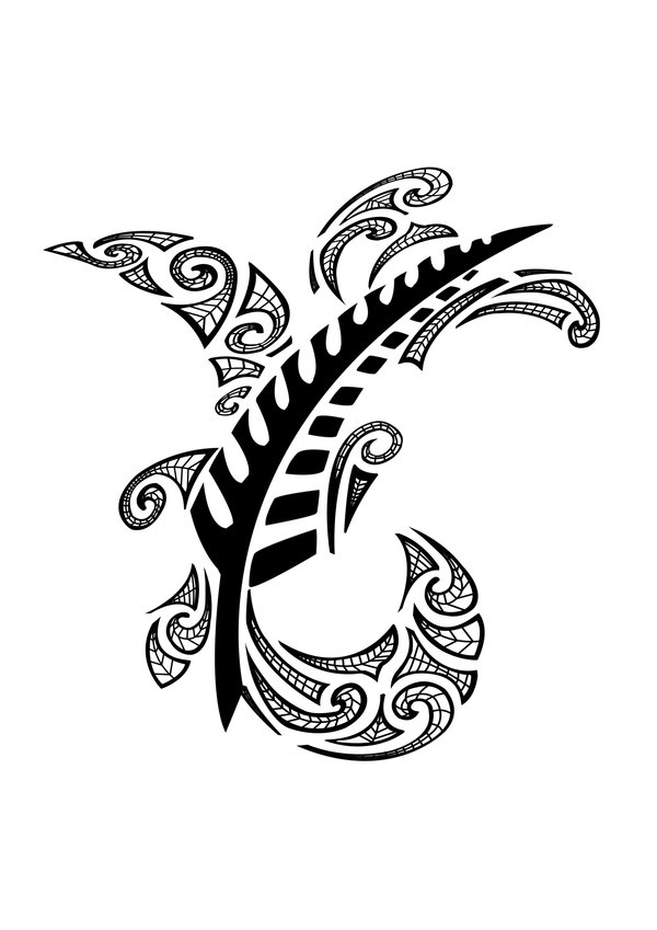 THE BLACK TATTOOS: Maori Tattooing