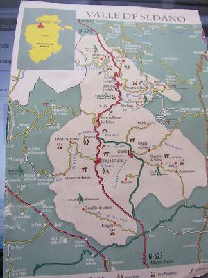 Orbaneja Del Castillo Mapa.Orbaneja Del Castillo Burgos Ando Y Reando