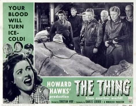 El enigma del otro mundo / The Thing (1951) / Foto cromo promocional