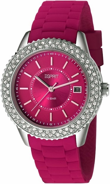 Esprit Timewear Marin Glints Berry: Price INR 7,295