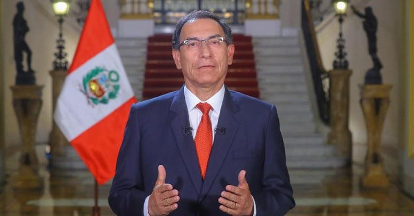 MENSAJE A LA NACIÓN: Texto completo del Mensaje Presidencial de Martín Vizcarra Cornejo (4 Junio 2018) DESCARGAR .PDF