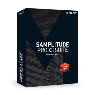 Download MAGIX - Samplitude Pro X3 Suite v14.4.0.518 Full version