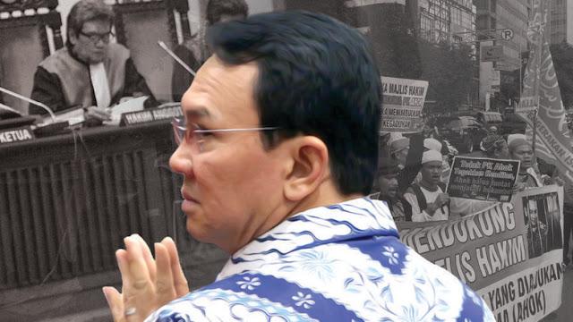 Diketok Artidjo Alkostar, Ini Hasil Mengejutkan Pengajuan PK Ahok di Mahkamah Agung