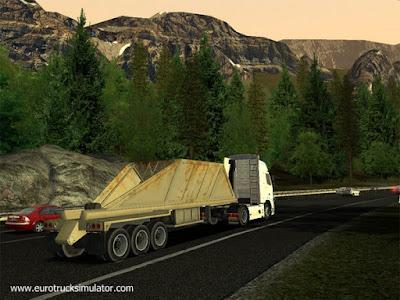 歐洲卡車模擬(Euro Truck Simulator),3D擬真大卡車競速遊戲!