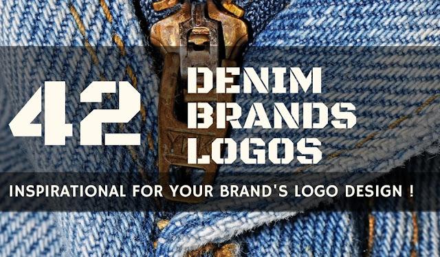 denim brand logos collection