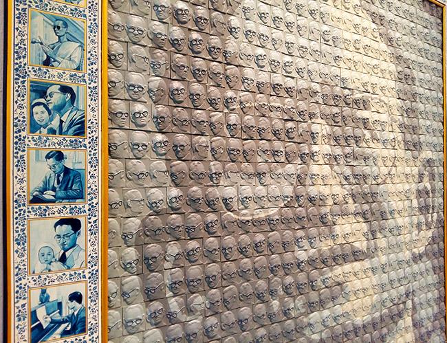 Jaran Boonparderm - Thai King Rama IX Art