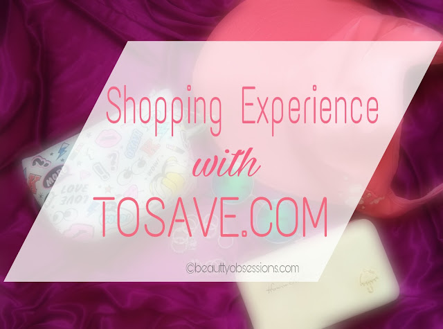 Shopping Experience with TOSAVE.COM