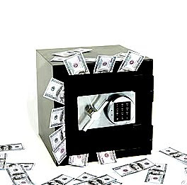 mirror-infront-of-cashbox-safe-image
