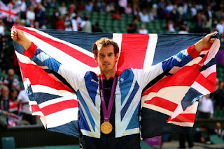 Andy Murray Olympics 2012