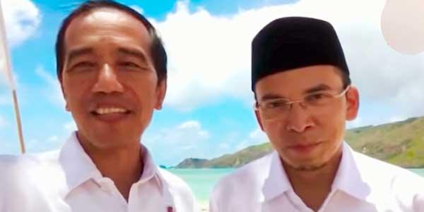 Begini Respons Pak Jokowi soal Dukungan dari TGB