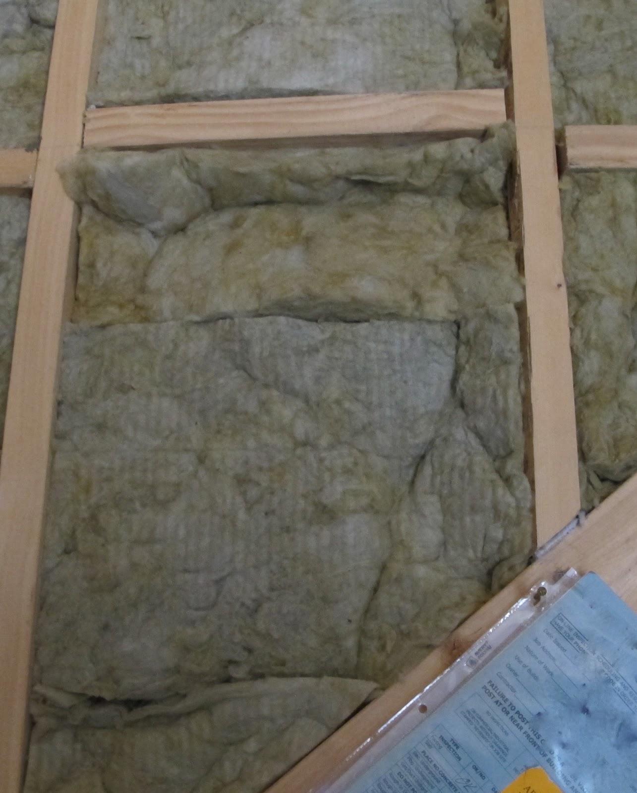 Green In Greenville Mineral Wool Insulation Batt