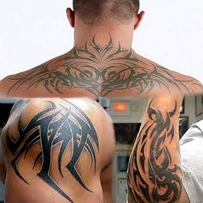 Randy Orton | japanese kanji tattoos