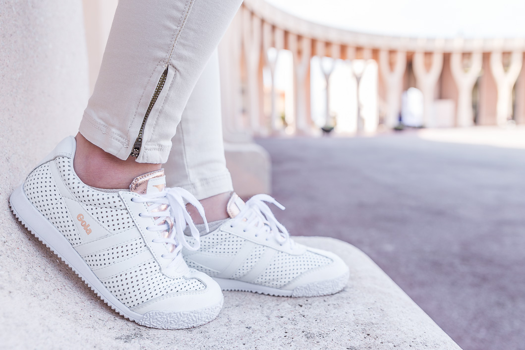 sneakers blanches gola
