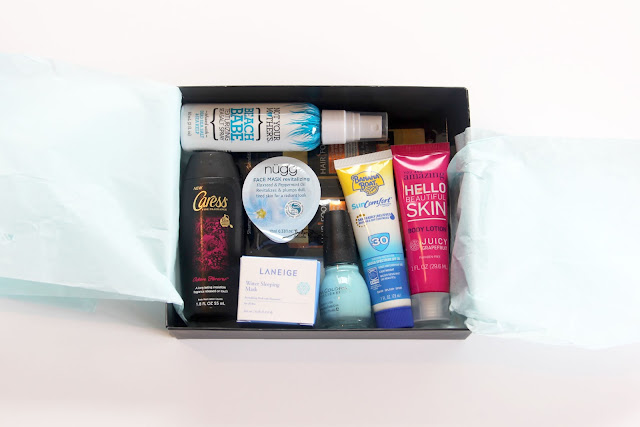 Inside the March Target Beauty Box