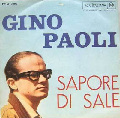 Album cover for Sapore di sale.