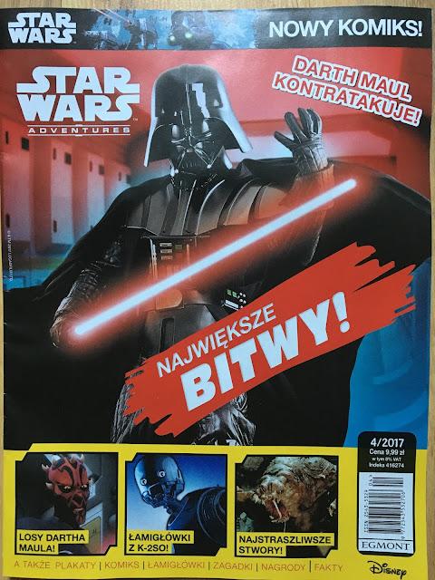 Magazyn Star Wars Adventures (4/2017) już w kioskach!