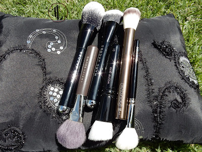 High end brush stash www.modenmakeup.com