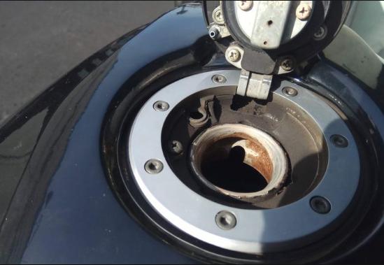 Faktor penyebab tangki Honda CB150R mudah berkarat