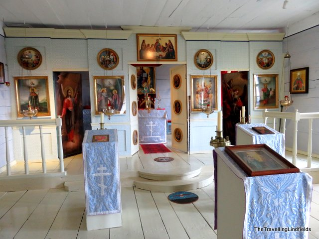 Inside the Russian Bishop's House
