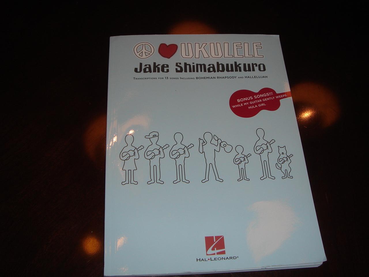 Ukulele Ghetto: Jake Shimabukuro Tab Book