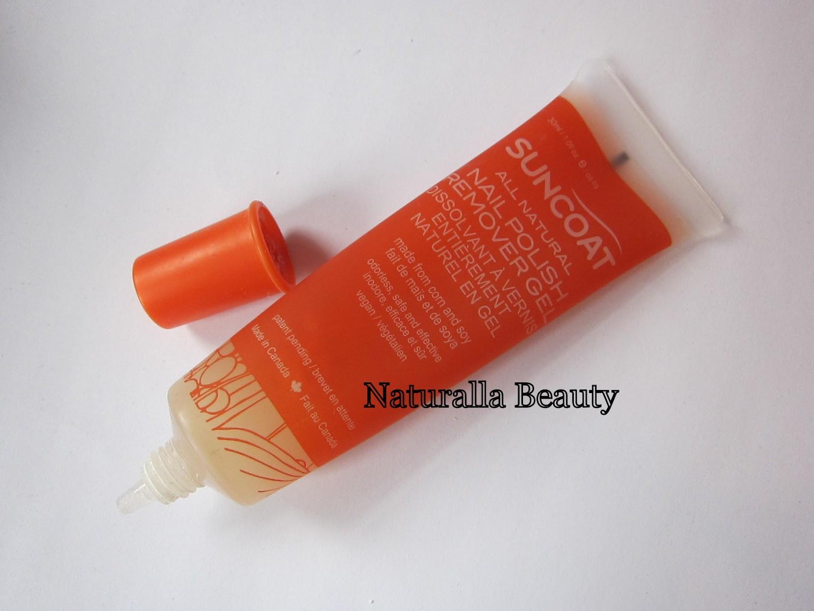 Suncoat Nail Polish Remover Gel Review Naturalla Beauty