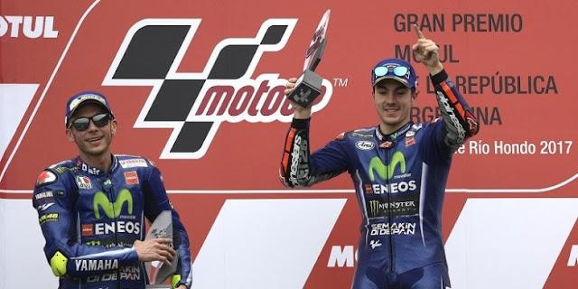 Duo Yamaha Raja MotoGP Argentina