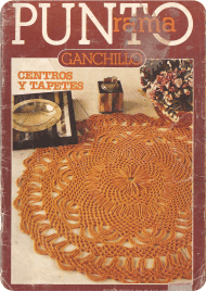 R20 Punto Rama Ganchillo - Centros y Tapetes