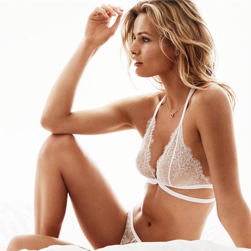 Lencería de novia H&M catálogo Belleza en blanco primavera verano 2016