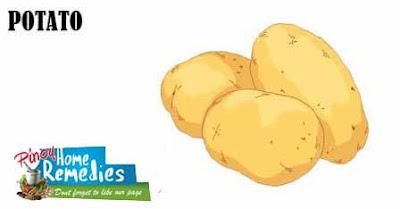 Home Remedies For Dark Underarms: Potato