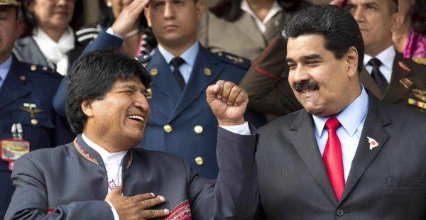 Evo condena arremetida golpista de EE.UU. contra Venezuela