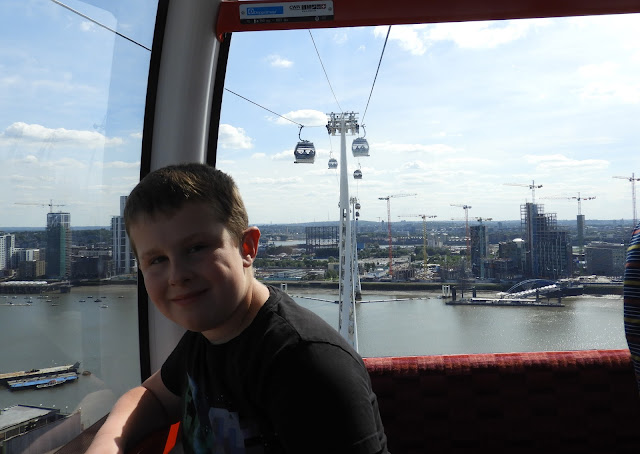 crossing thames cable car ride