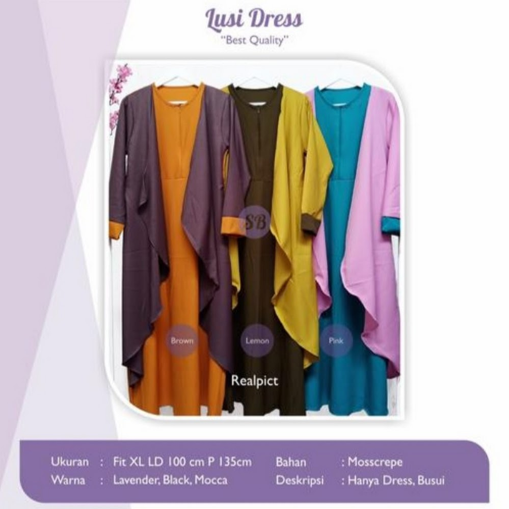 jual lusi dress