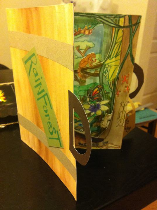 Art With Mrs J 3rd Grade Ecosystem And Tunnel Book