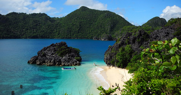 Caramoan, Bicol in the Philippines