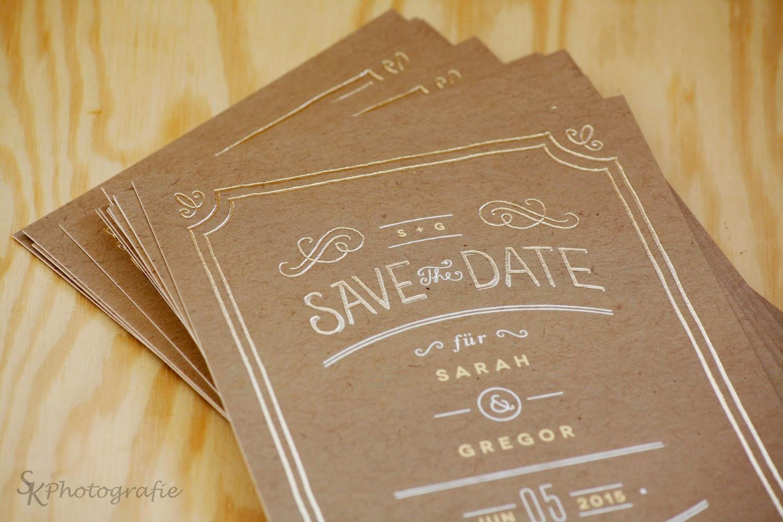 Etwas Neues genug Unsere Hochzeit: Die Save-The-Date-Karten | Alles und Anderes #WU_49