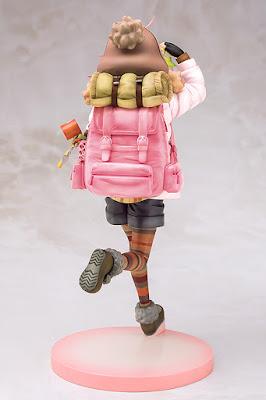 "Nadeshiko Kagamihara de ""Yurucamp"" en esta espectacular figura de Phat!"